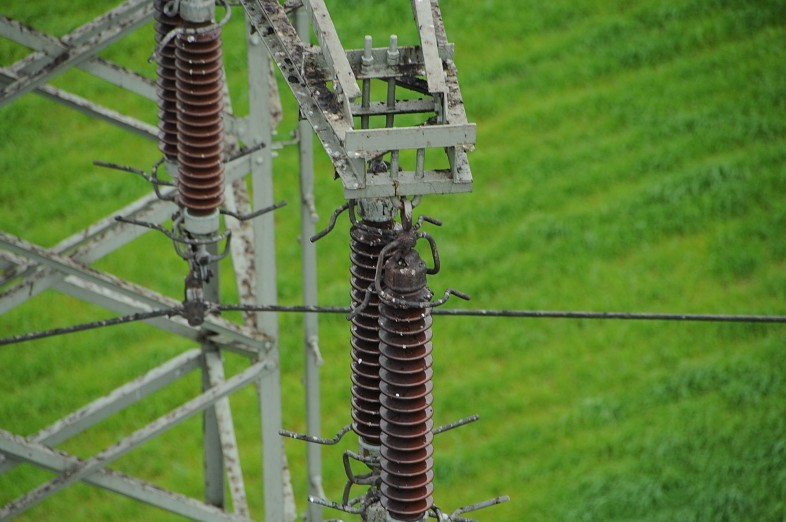 Luftbilder Wismar Isolator Srommast Mecklenburg-Vorpommern
