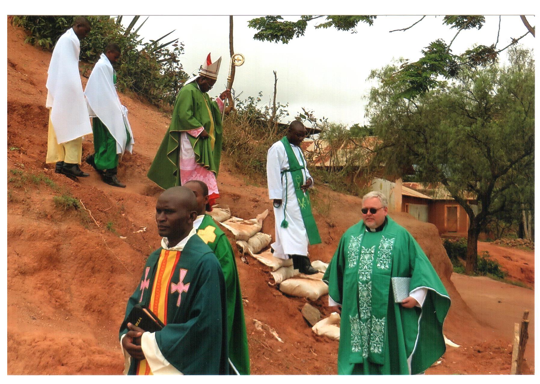 Auf dem Weg zur Messe