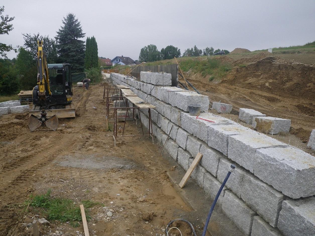 Der Mauerbau