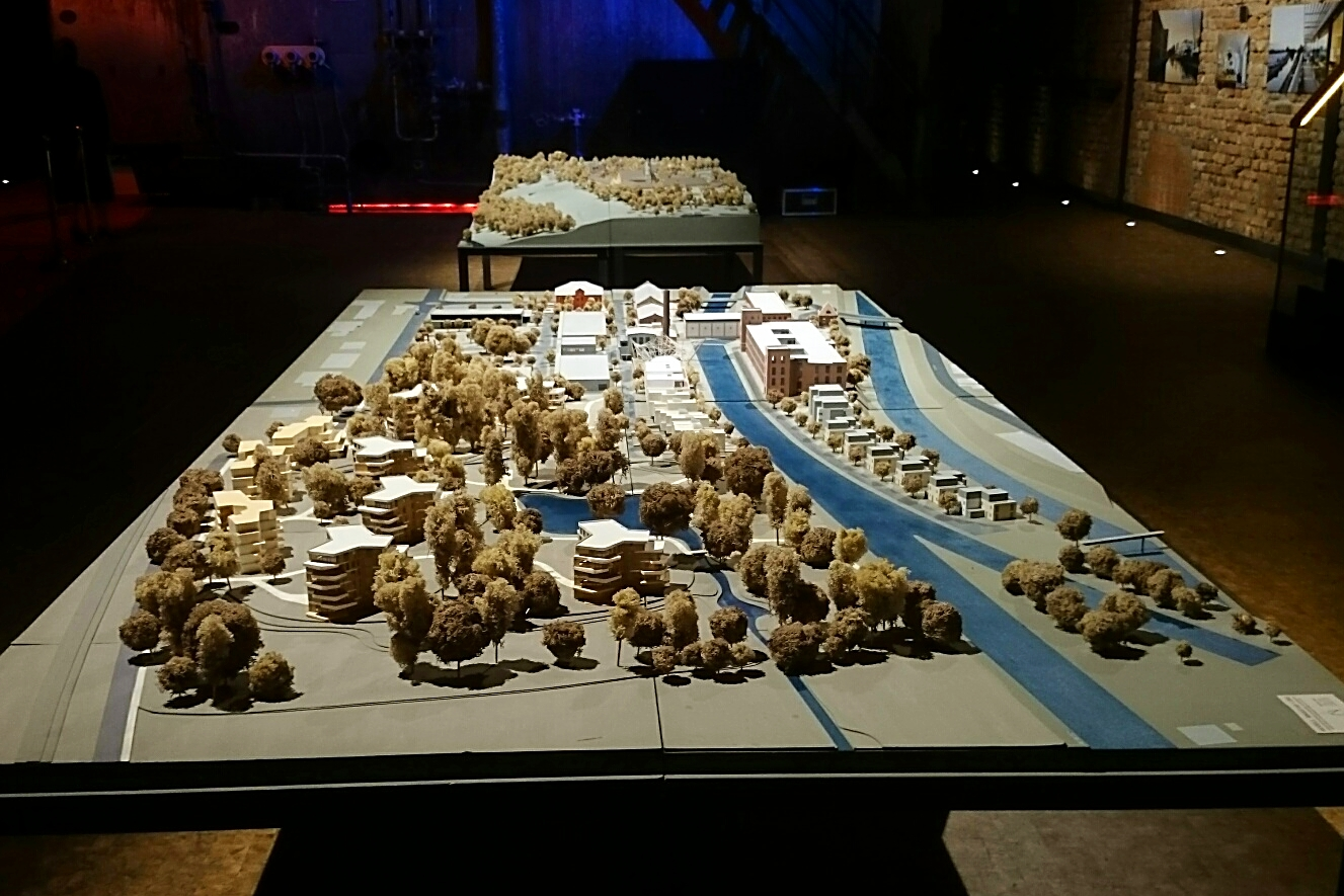 3D Modell der Quest AG, Kolbermoor