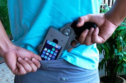 La funda perfecta para sicarios de Iphone
