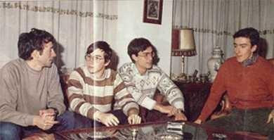 Made in Spain. Paco Menéndez, Carlos Granados, Camilo Cela y Fernando Rada
