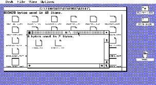 GEM (Entorno gráfico de los Amstrad PC1512/PC1640