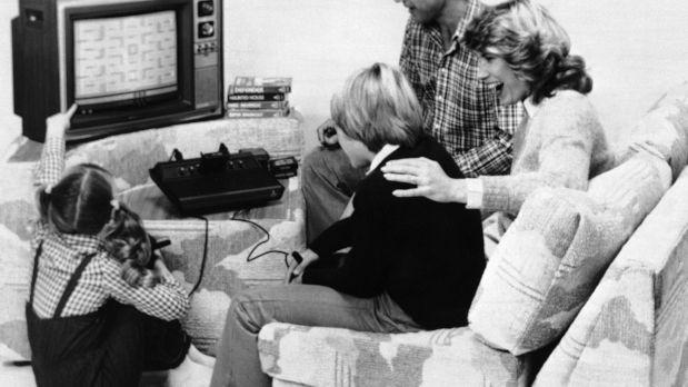 Atrás quedo hace tiempo ya esta imagen de cuando Atari era el rey de los videojuegos