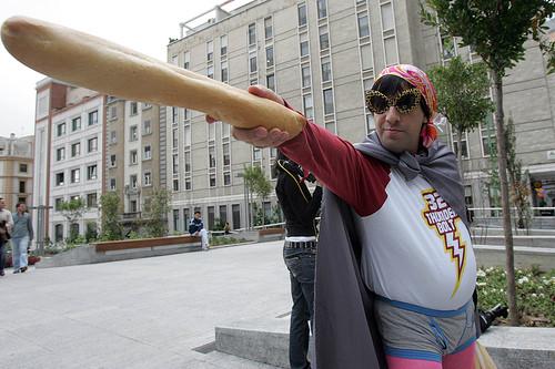 El capitán barra de pan