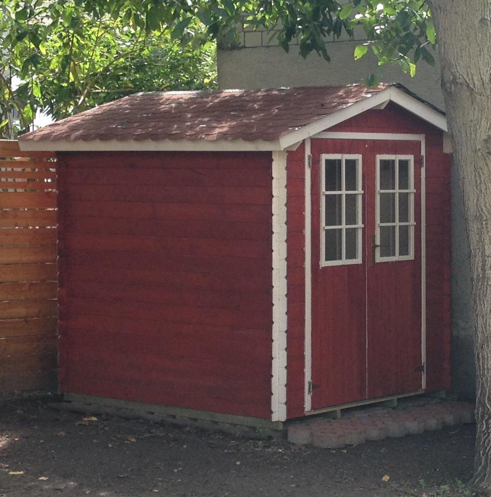 Gut bekannt Gartenhaus und Holzunterstand - Heimwerker - tutorial zum Thema DIY KA16
