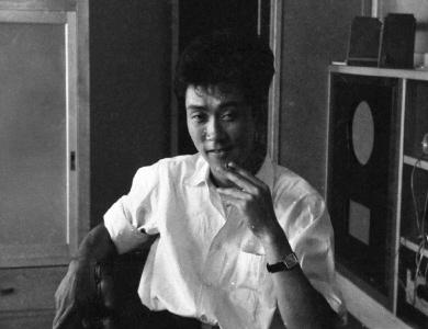 ▲「クリプトガム」作曲当時の松村禎三氏  撮影 小杉太一郎 (写真提供:小杉家)