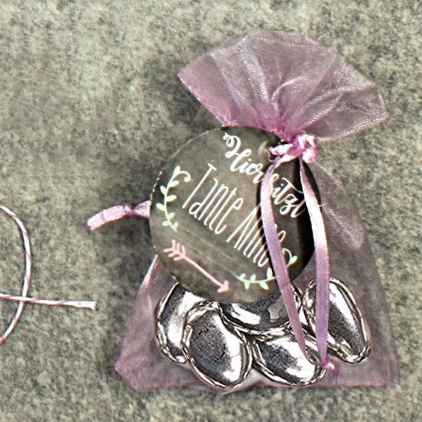 Hochzeitsmandeln Metallic