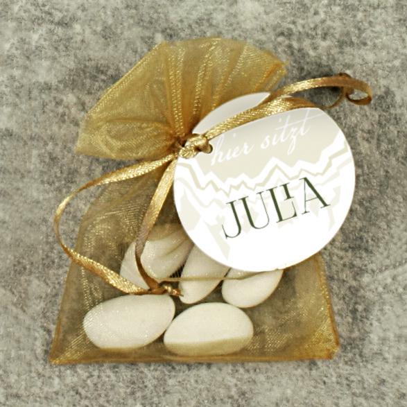 Hochzeitsmandeln Weiß