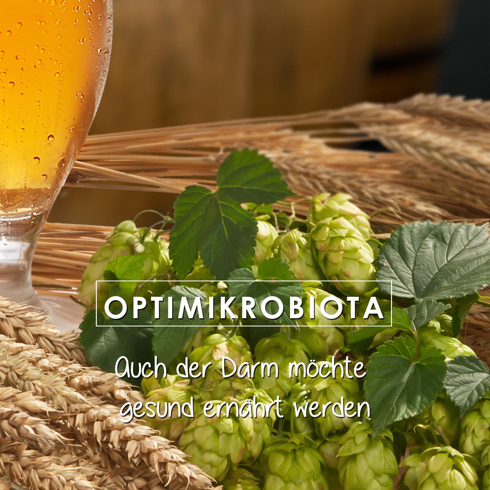OptiMikrobiota - Bierhefe in Pelletform für eine aktive Verdauung