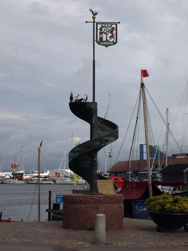 der Hafen von Varburg