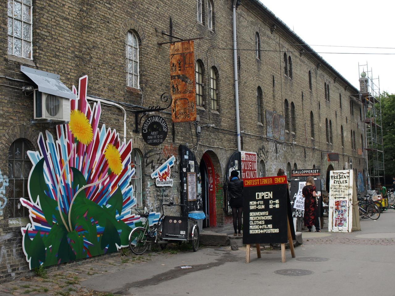 die alternative Stadt Christiania