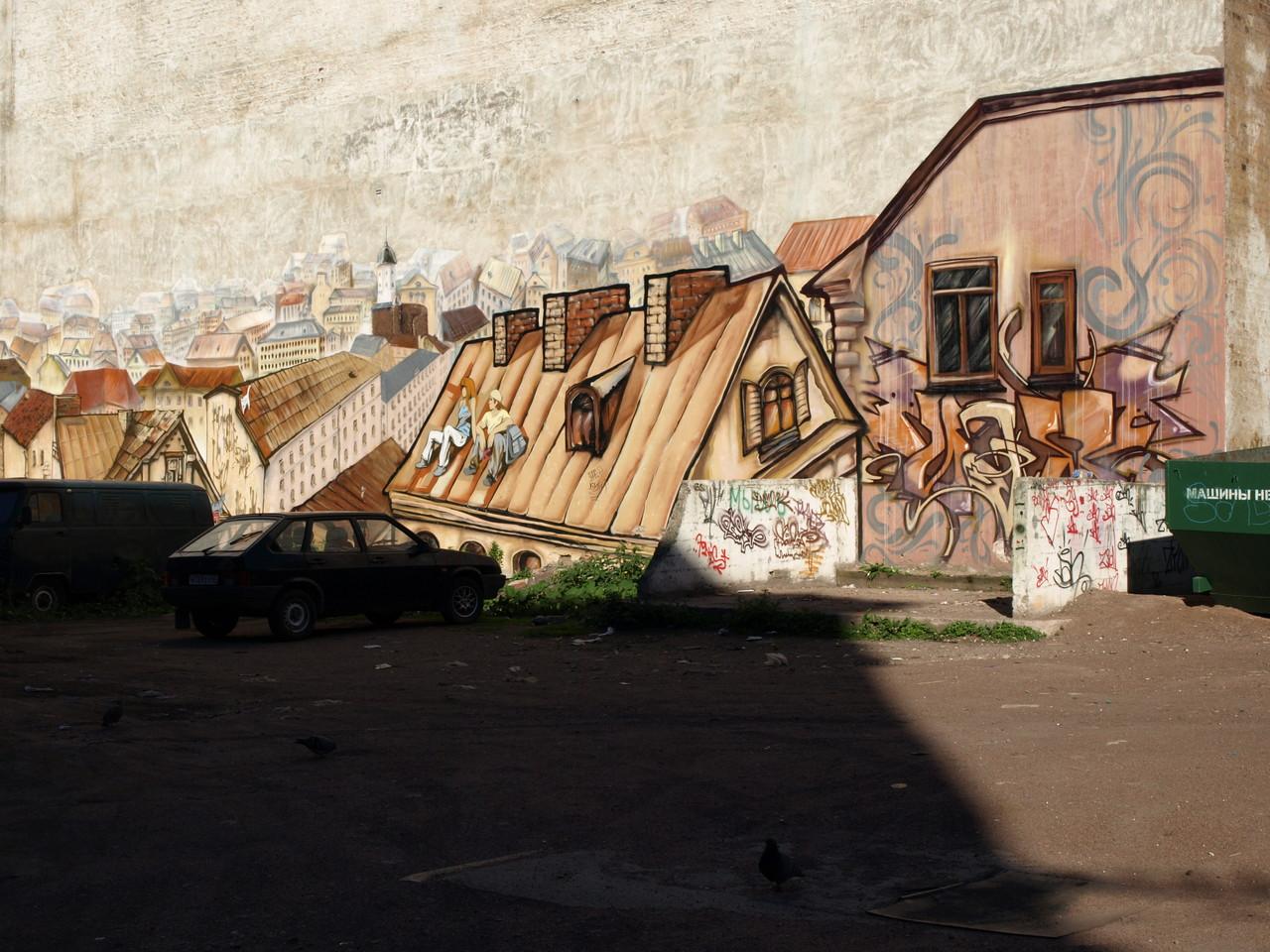 auch hier gibt es Wandmalereien
