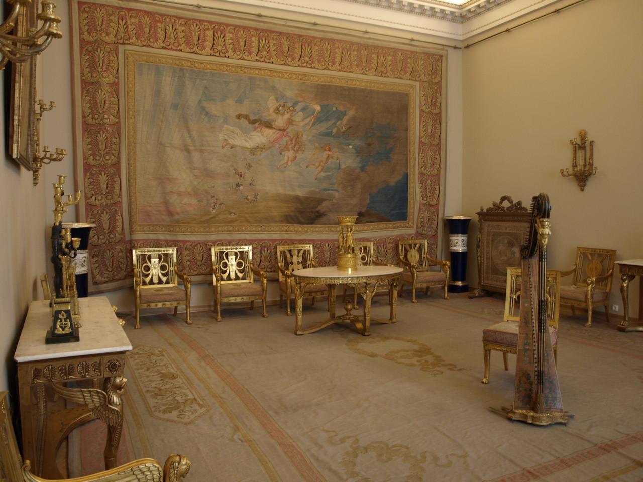 ein original eingerichtetes Zimmer