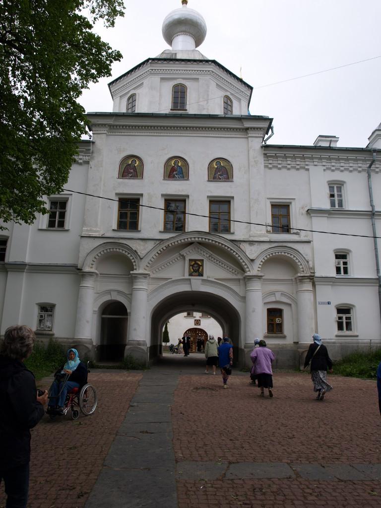Eingangstor zum Kloster