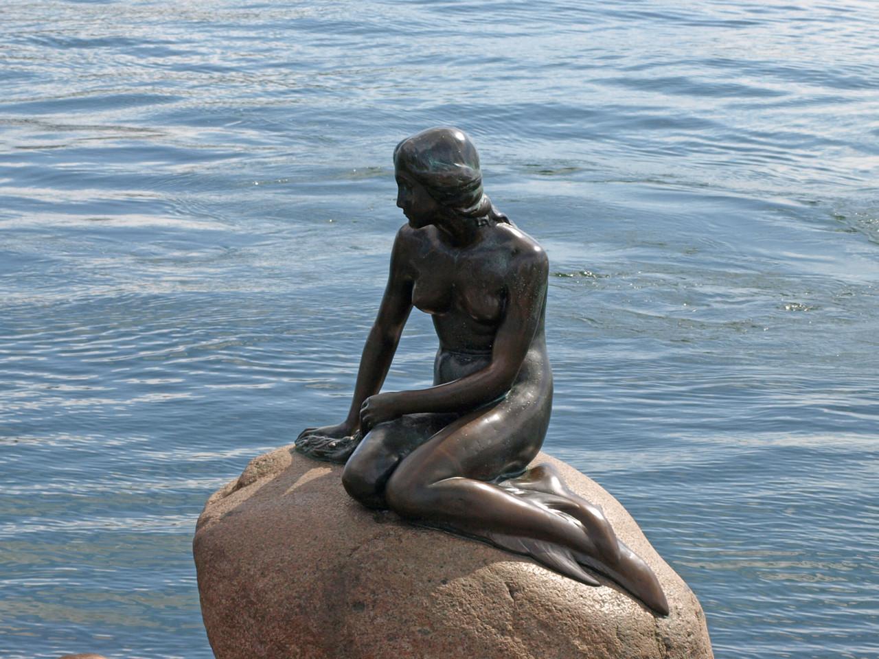 die Meerjungfrau darf natürlich nicht fehlen