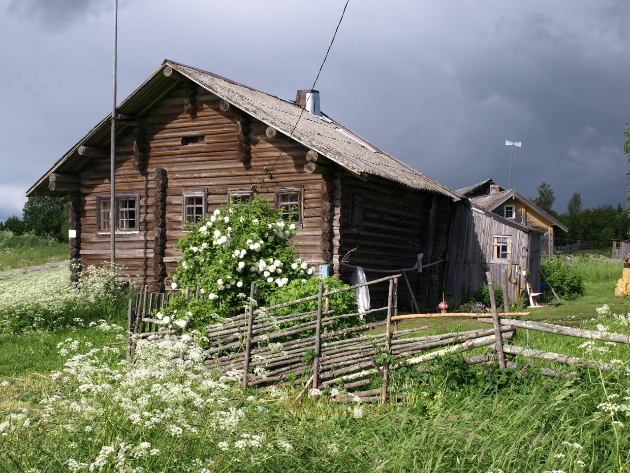 260 Jahre alte Häuser