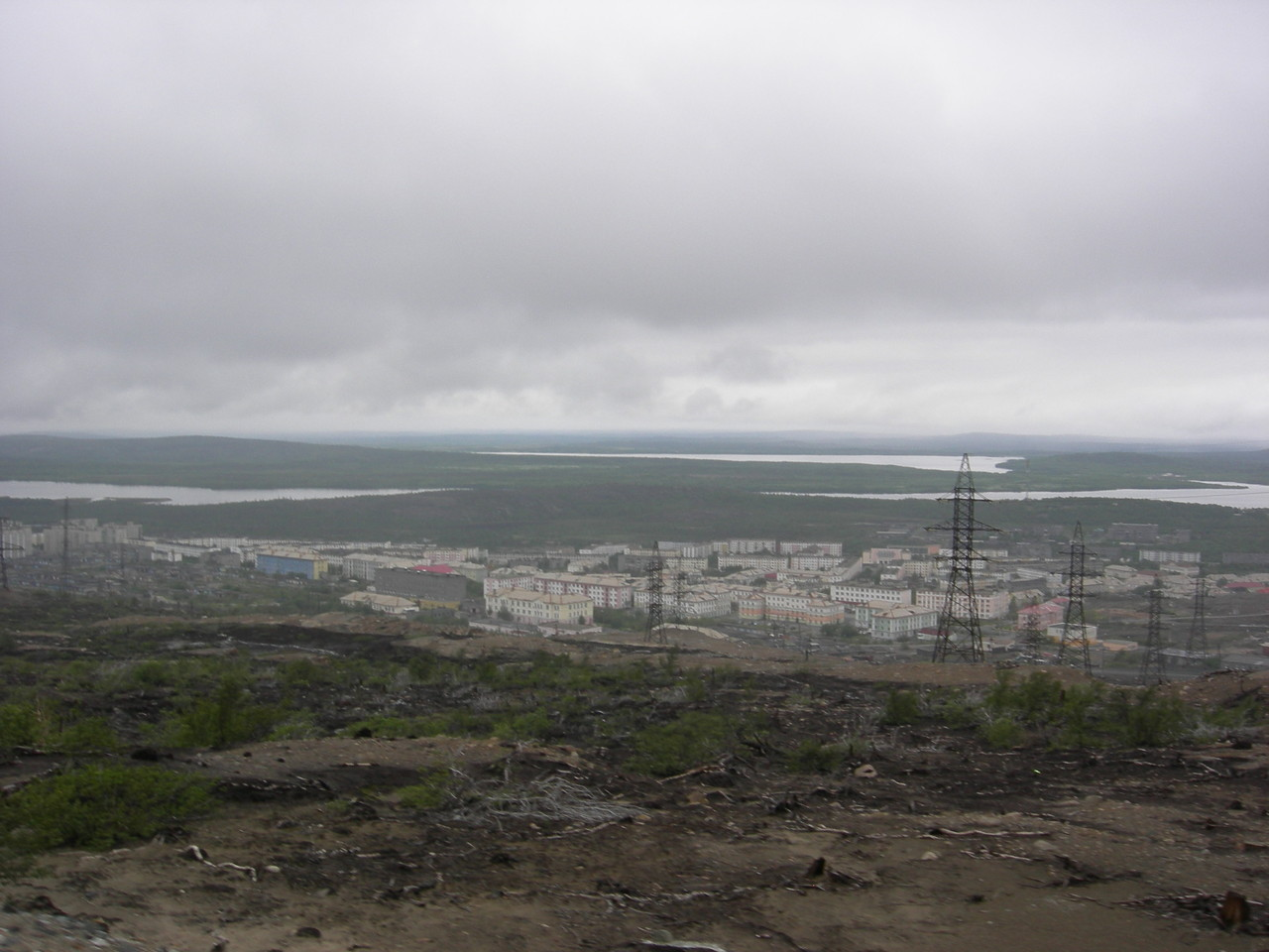 Nikel, kurz vor der norwegischen Grenze