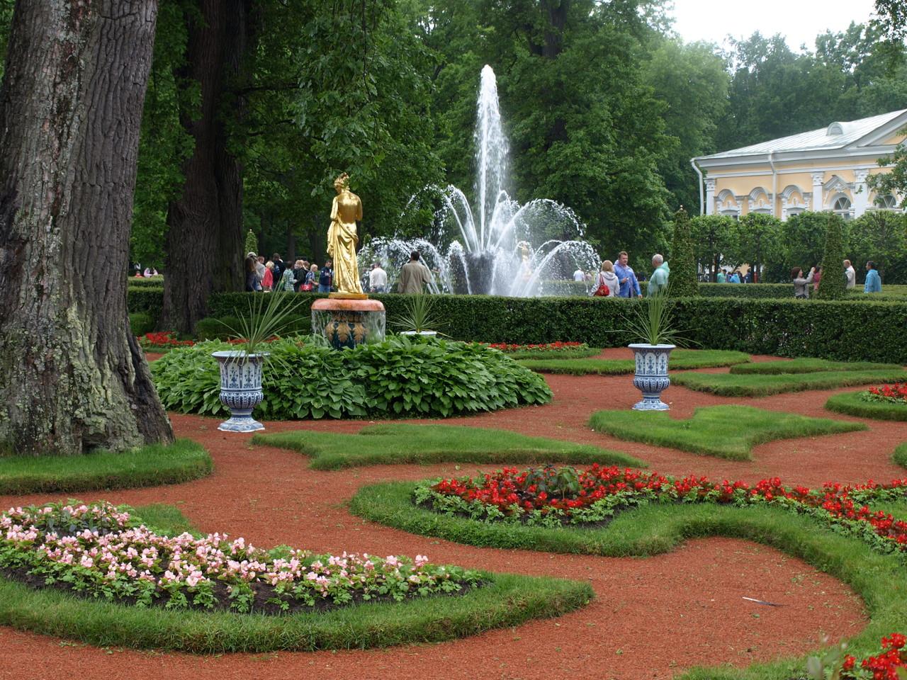 schöne Gartenanlagen