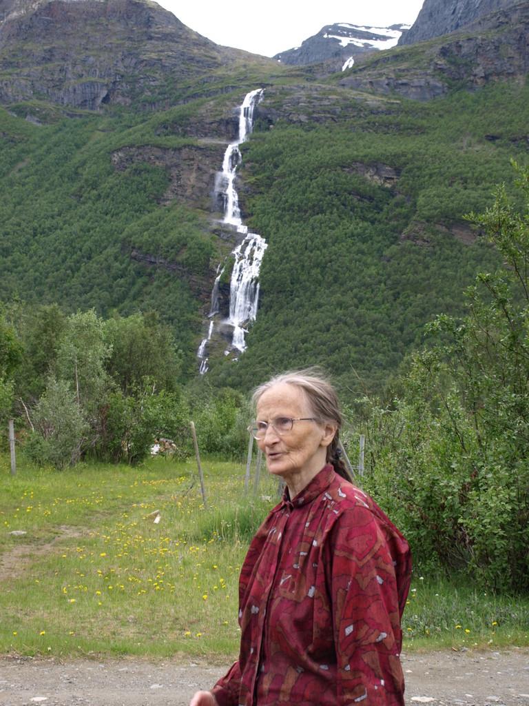 Begegnung mit einer älteren Norwegerin