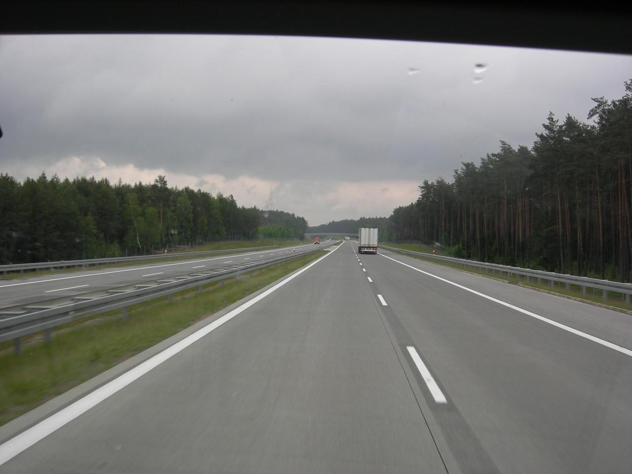 freie Fahrt auf polens Autobahnen