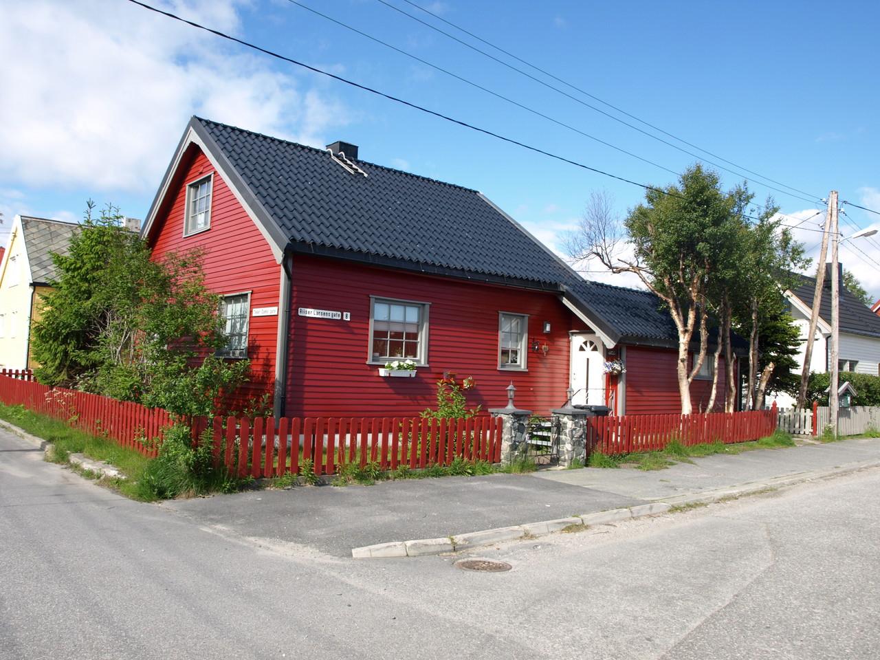 schöne, farbige Häuser