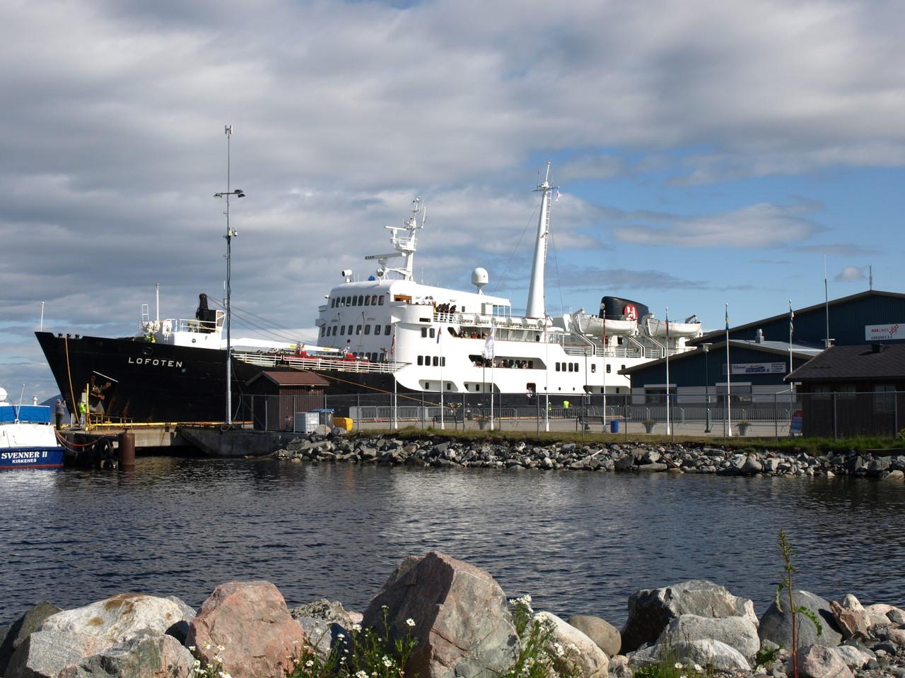 Das Postschiff der Hurtigrouten