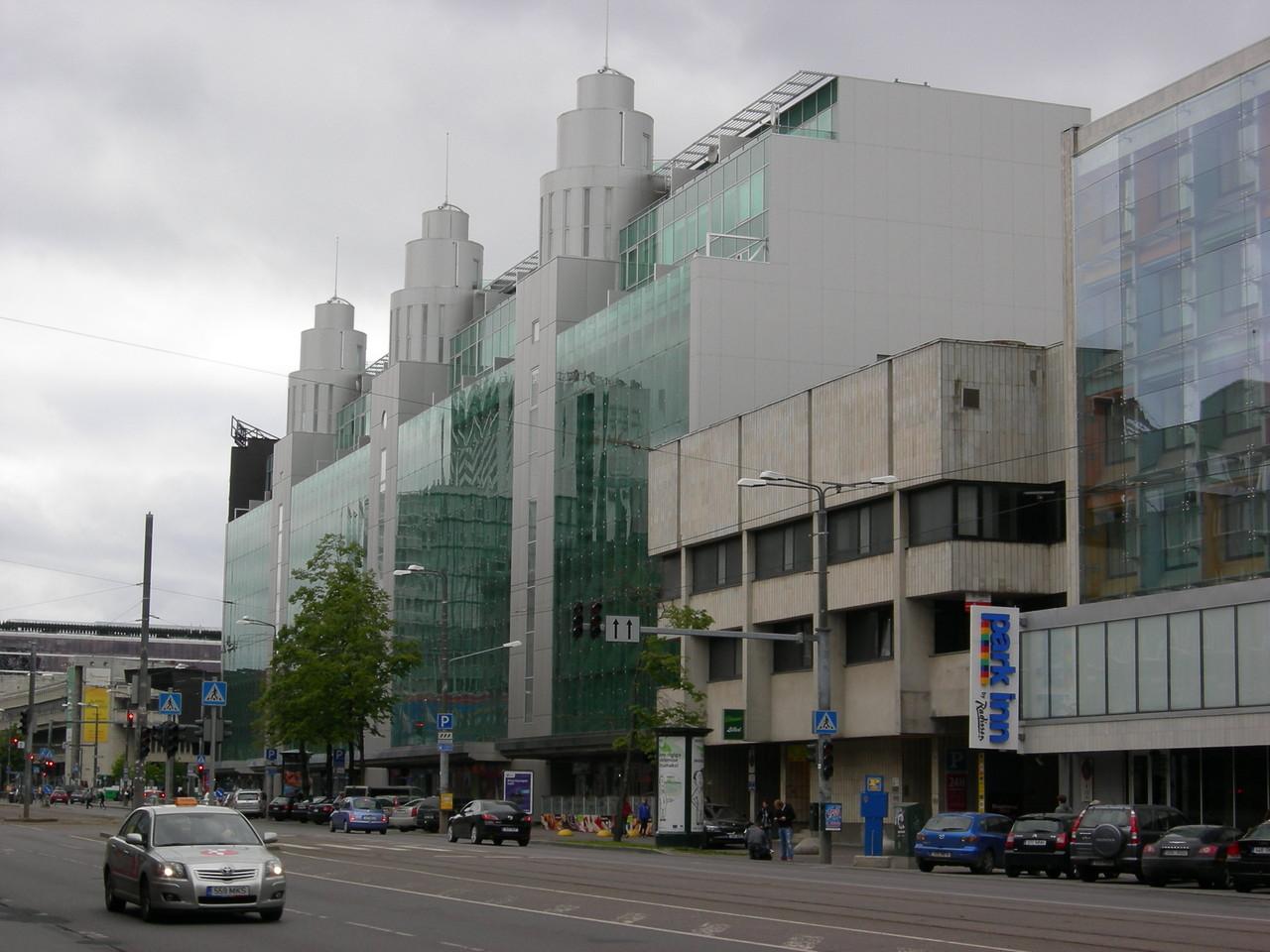 es beginnt das moderne Tallinn