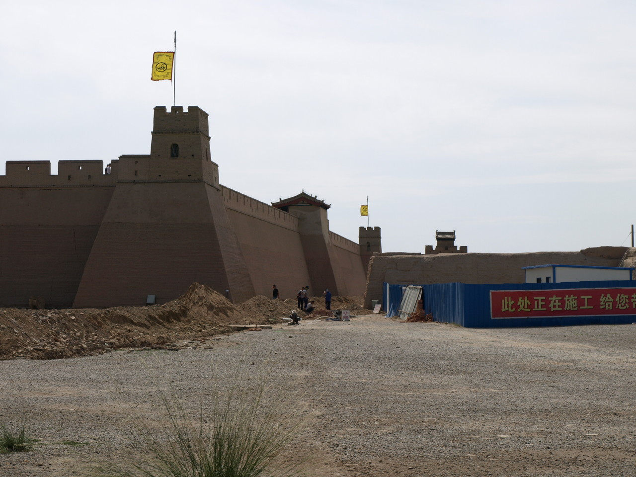 befindet sich eine Festung