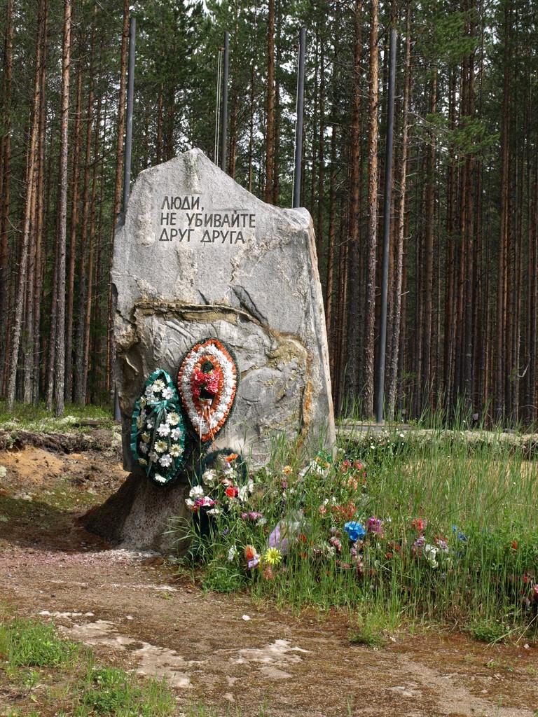 Gedenktafel anderer Staaten wie Litauen, Polen etc.