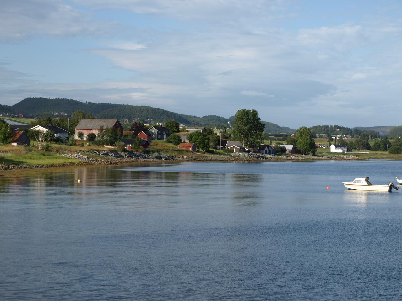 typisch norwegische Landschaft