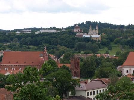 Aussicht vom Gediminas-Turm