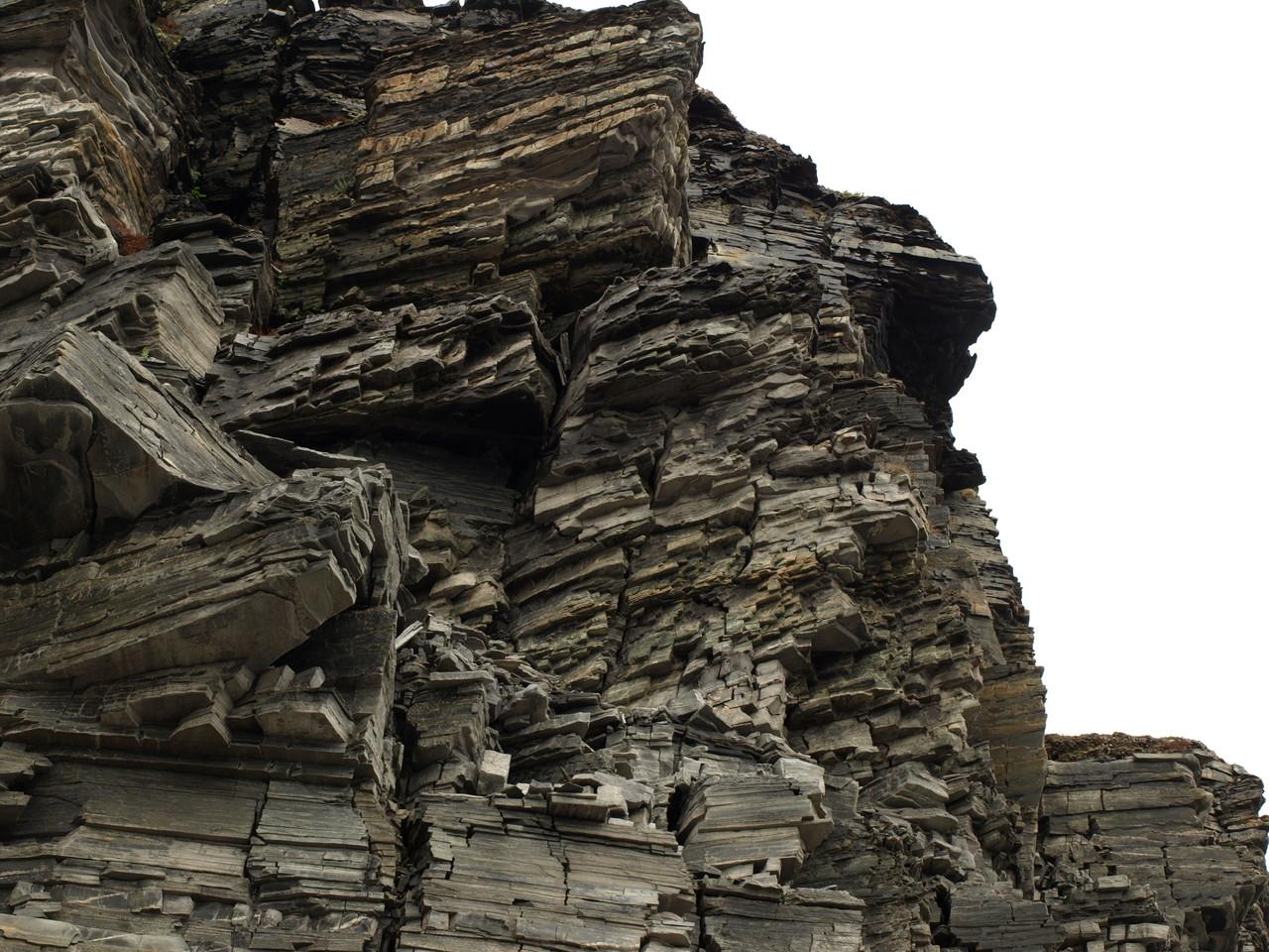 typische Steinsformation im Norden