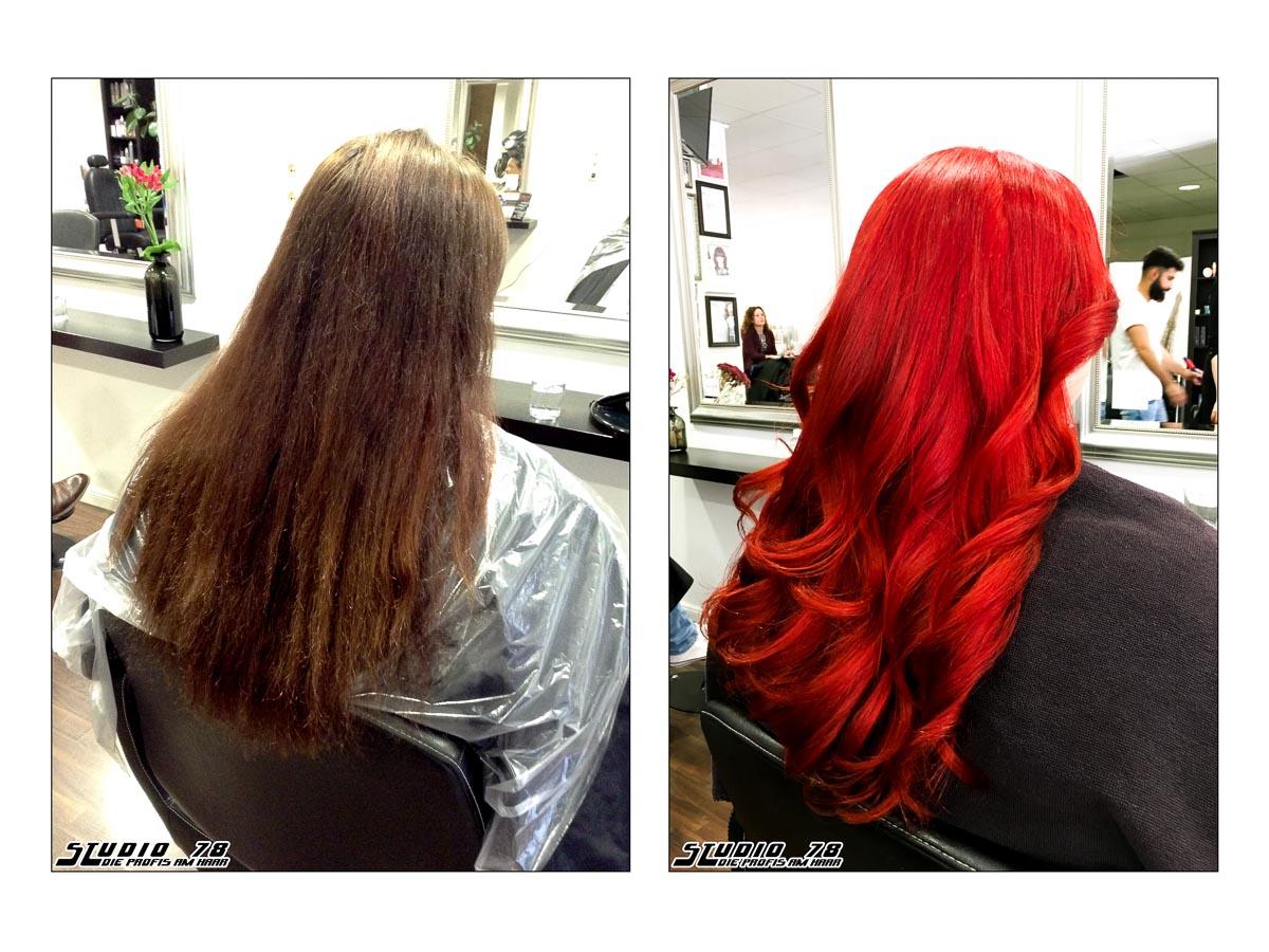 Haarfarben entferner rot