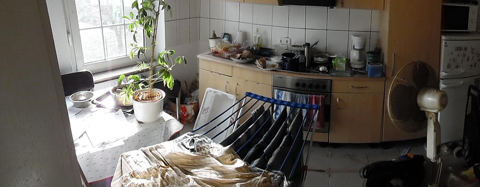 Die Küche lädt zum verweilen ein, oder?