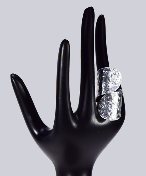 Wunderschöner Lagenlook-Ring. Extravaganter Modeschmuck designed by My-Levanjo.