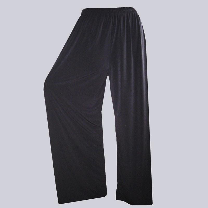 Wunderschöne, weite Slinky Marlene Hose, schwarz in großen Größen. Tolle XXL Damenmode.