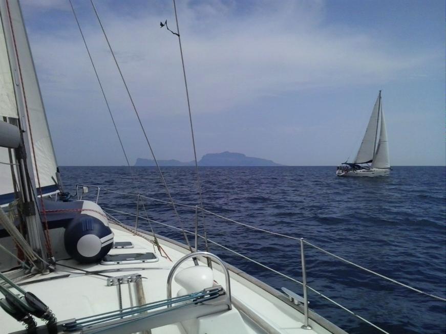 Ansteuerung auf Capri