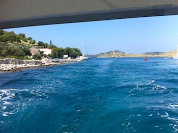 Durchfahrt Dugi Otok / Mala Proversa