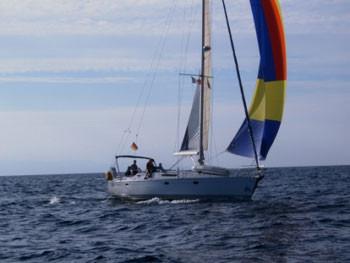 Bei typischen Bodenseewinden wurde um 13.15 Uhr Kursänderung nach Bastia (Korsika) beschlossen.