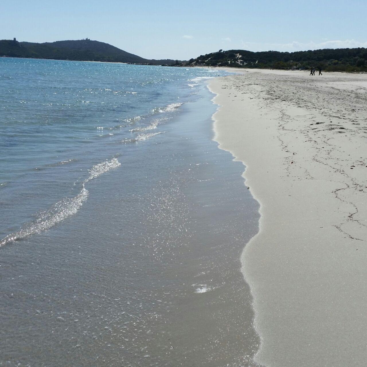 Wunderschöner Sandstrand in Orsai, Sardinien