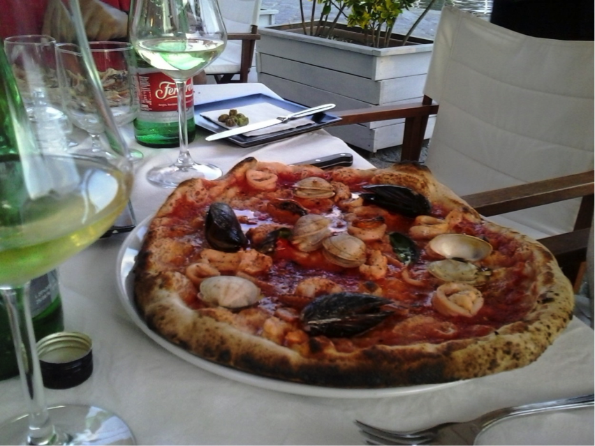 Pizza auf Procida