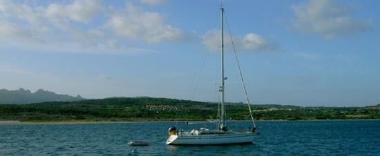 Bucht von Porto Puddy (Sardinien)