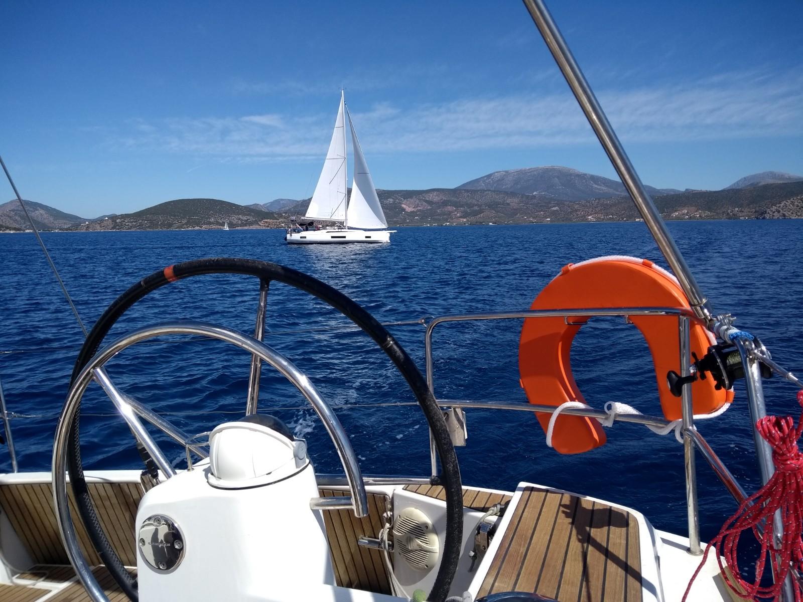 Mini-Regatta im Argolischen Golf