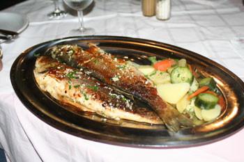 Abendessen in Kroatien