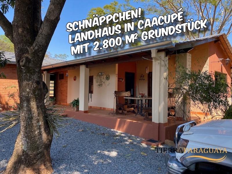 Schnäppchen! Landhaus zwischen Caacupé und Atyra mit 2.800 m² Grundstück #213