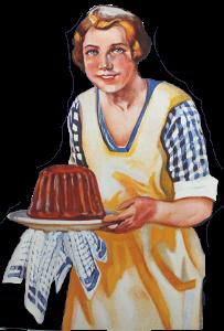 Kategorie Küche & Haushalt -> Abbildung Werbemotiv Roeder Herde Darmstadt