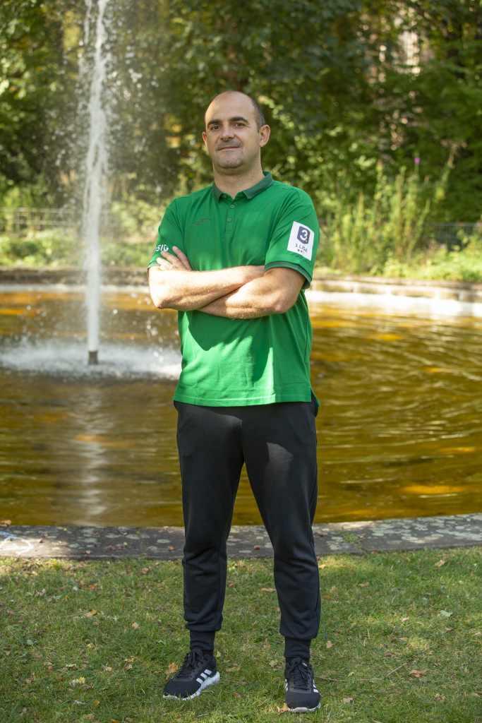 Trainer Vlado Jelesic