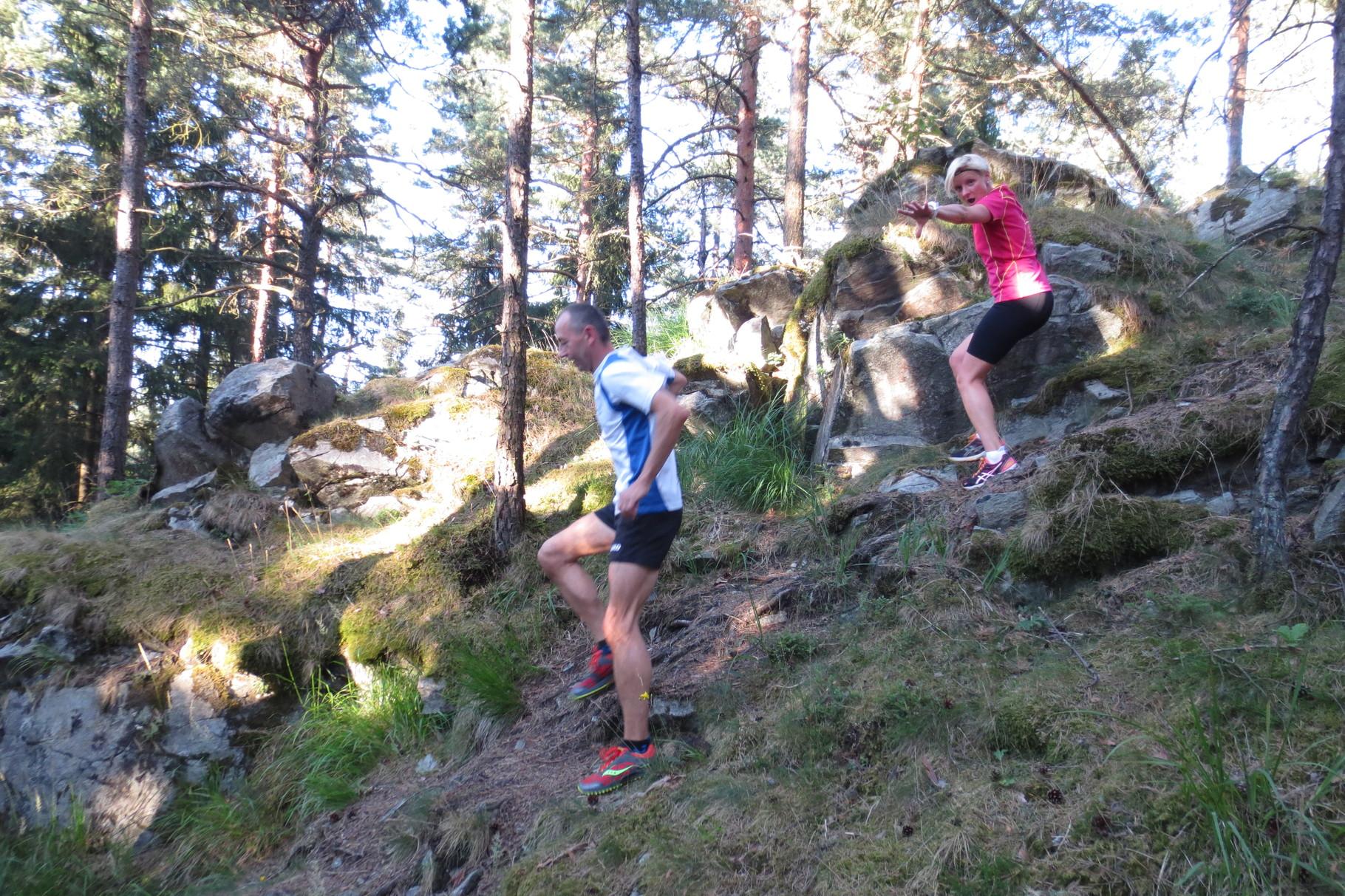 """Kupferberg: Peterlesstein """"Bergab-Trail-Herausforderung"""" sogar mit Spaß-Faktor :-)"""