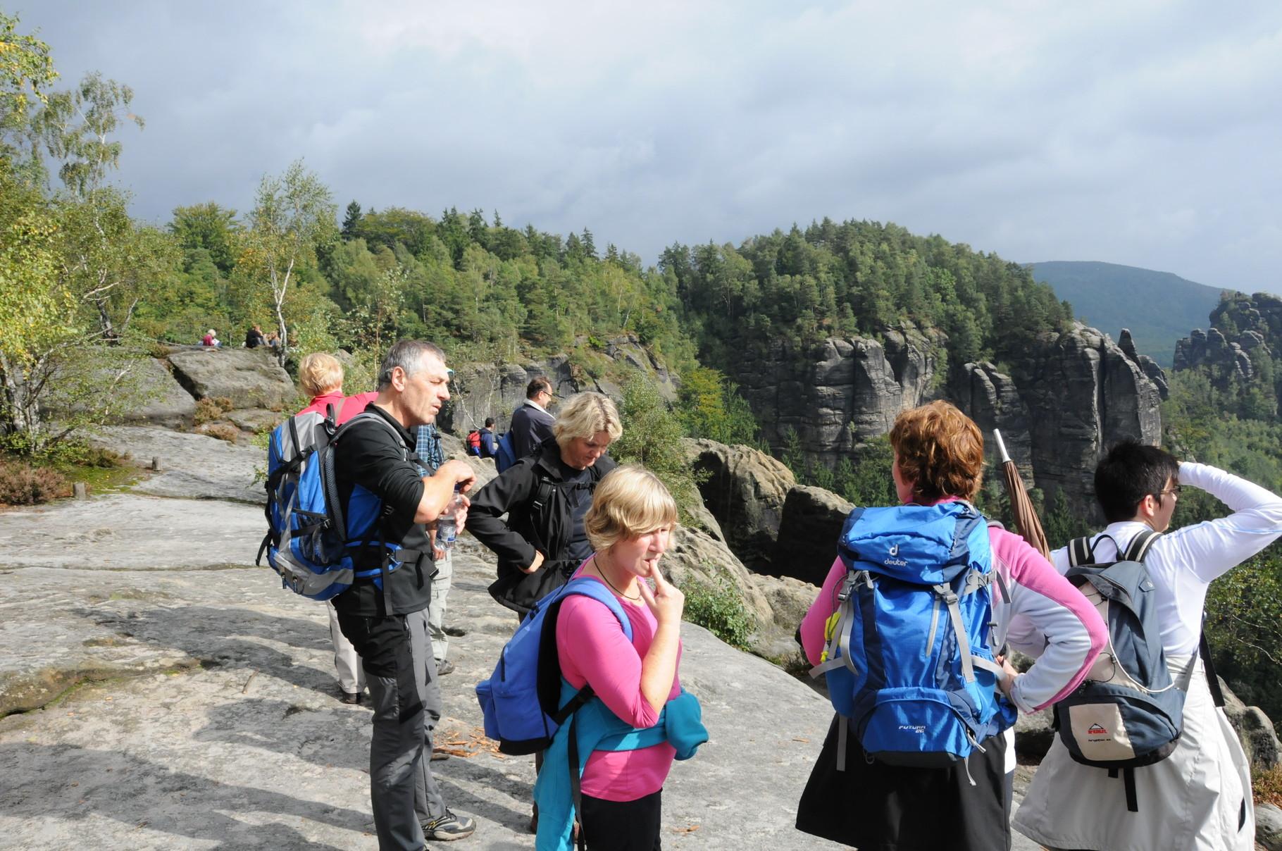 Ausflug Elbsandsteingebirge